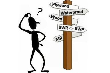 Plywood furniture design - BWR, BWP or MR