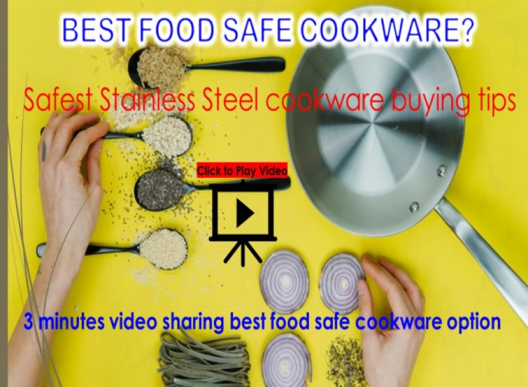 Food safe Allergy free cookware