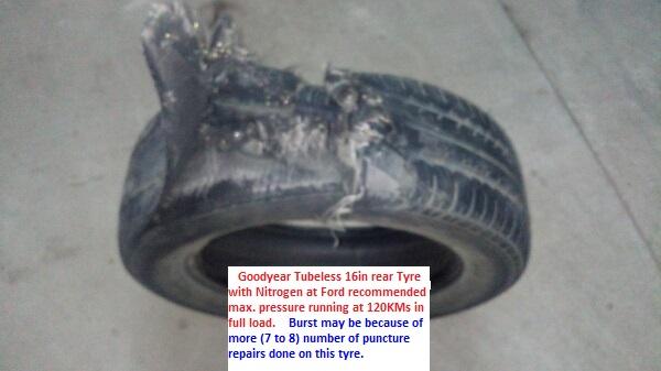 Tyre Burst Reason - 3 ways to control