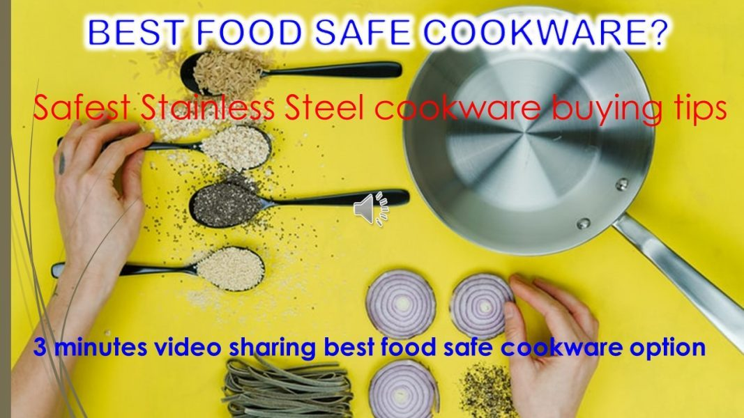 Safe cookware material – Best type cookware to avoid allergy?